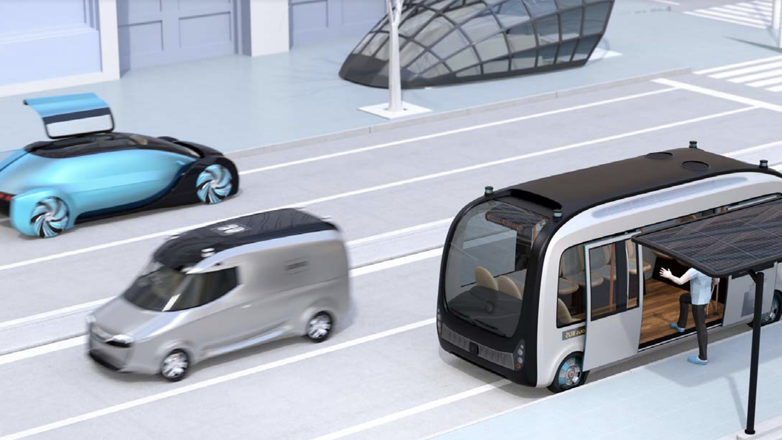 Illustration of future mobility.