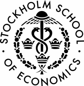 Stockholm School of Economics' logo.