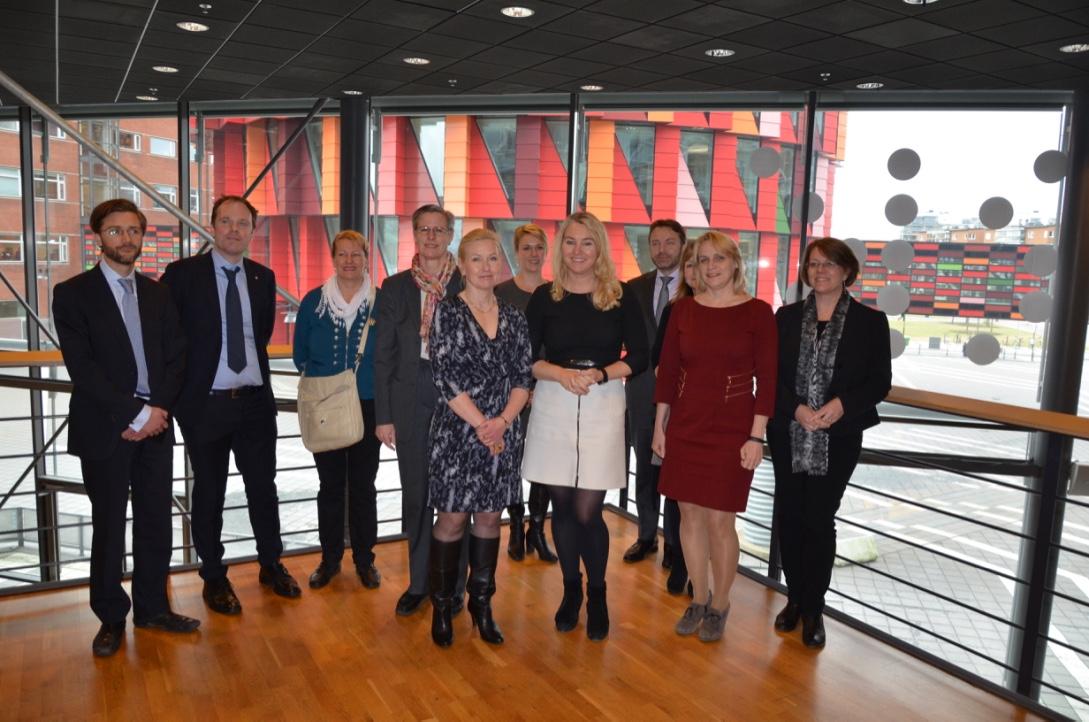 Framtidens mobilitet i fokus när Anna Johansson träffade den nederländska infrastruktur och