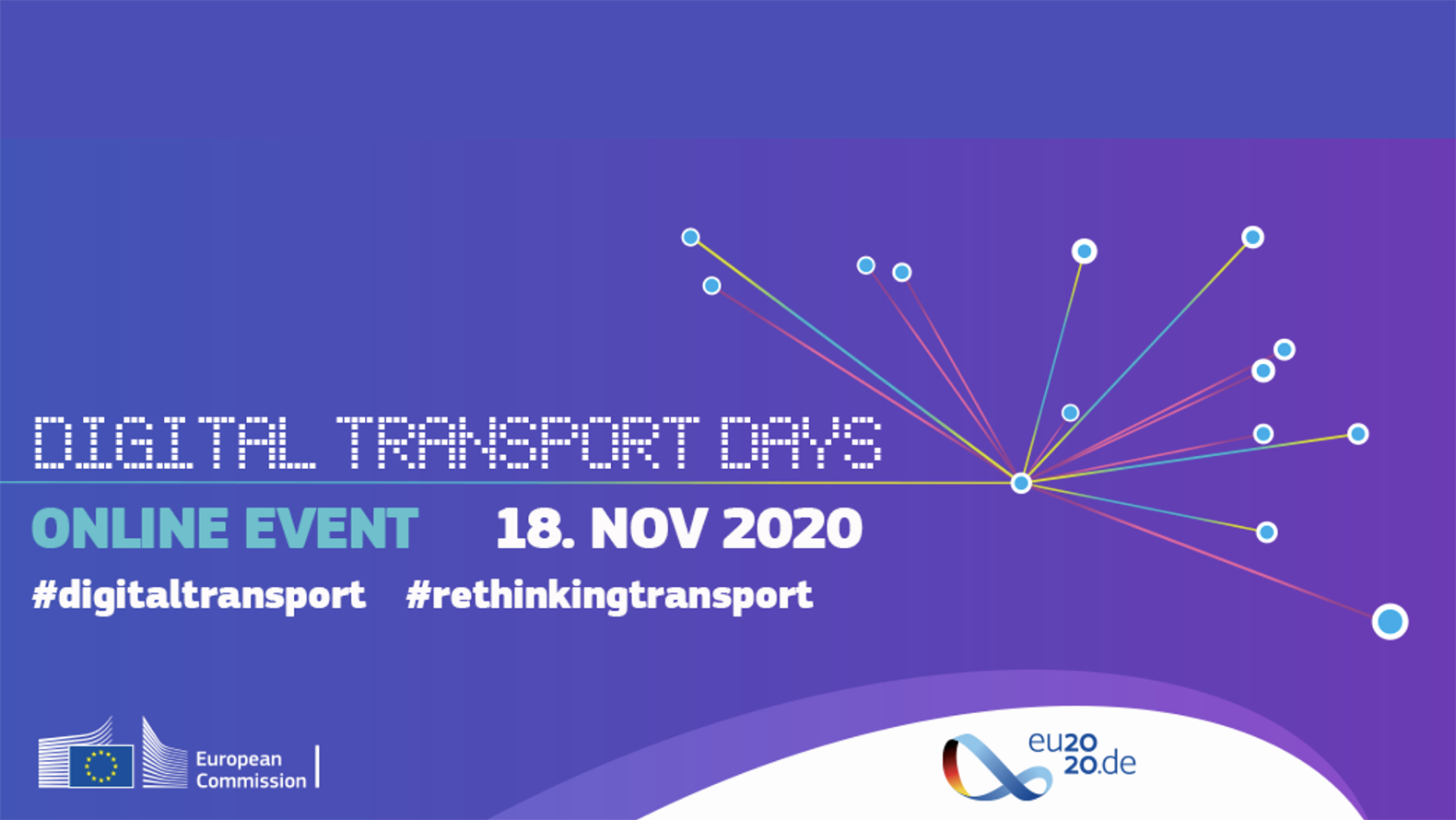 """Digital Transport Days – Online Event 18 Nov 2020"""