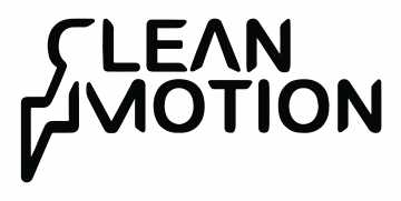 Clean Motion's logotype.